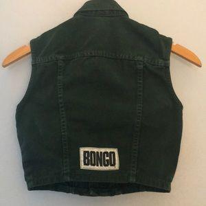 VINTAGE BONGO DENIM VEST/ SHIRT